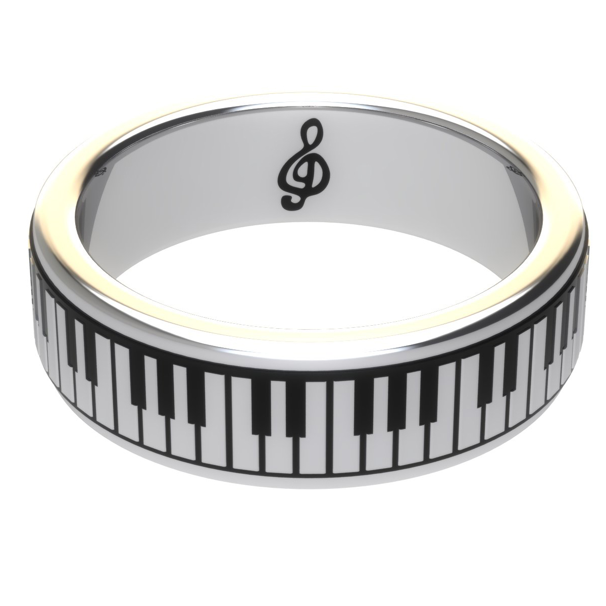 pianoring silver the piano ring. Black Bedroom Furniture Sets. Home Design Ideas